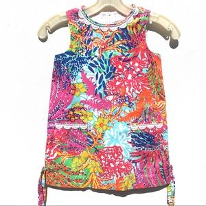 Classic Lilly Pulitzer girls floral Summer Dress 5
